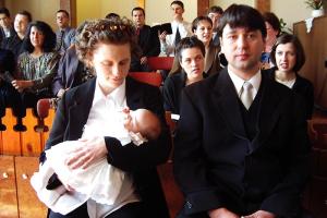 Gyerekbemutatás Tóth Nóra 2003.03.23