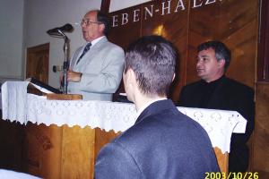 Kartali vendégszolgálat 2003.10.26