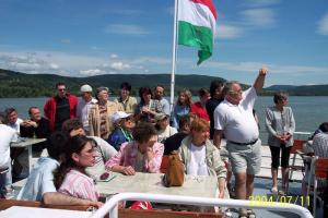 BVSZ hajókirándulás Visegrád 2004.07.11