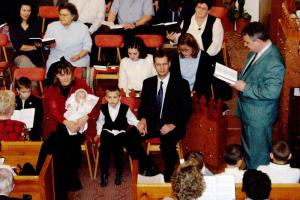 Gyerekbemutatás Gyalai Boglárka 2004.02.12