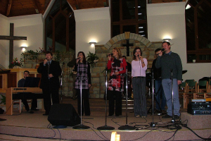 Zenés evangélizációs hétvége 2004.11.20-21