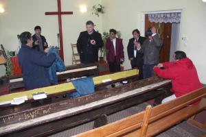 A tuzséri roma gyülekezetben 2005.12.01