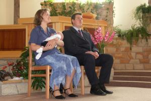 Gyerekbemutatás Marton Áron 2005.08.07