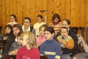 Bábcsoport Borsosberényben 2007.02.