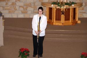 2.advent zenészekkel 2009.12.06