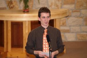 Vasárnap a kamarakórus szolgálatával 2009.03.15