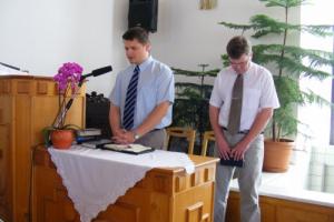 Énekkari szolgálat Mátraszőlősön