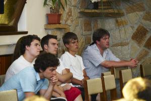 Fúvósaink szolgálata Szokolyán 2010.07.11