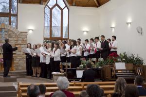 P.A.P. Gospel kórus szolgálata  2013.03.10