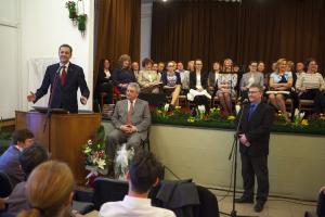 Merényi Zoltán beiktatása Szokolyán 2017.03.12